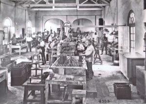Atelier d'electricité